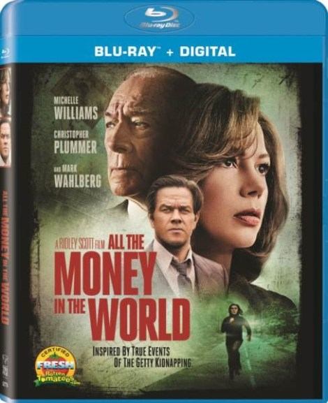 'All The Money In The World'; Arrives On Digital March 27 & On Blu-ray & DVD April 10, 2018 From Sony 10
