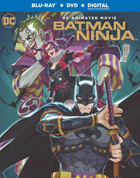 English Language Trailer, Artwork & Release Info For 'Batman Ninja'; Arrives On Digital April 24 & On Blu-ray & DVD May 8, 2018 From DC & Warner Bros 3