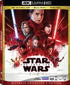 'Star Wars: The Last Jedi'; Arrives On Digital March 13 & On 4K Ultra HD, Blu-ray & DVD March 27, 2018 From Lucasfilm 1