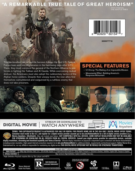 '12 Strong'; Arrives On Digital April 10 & On Blu-ray & DVD May 1, 2018 From Warner Bros 5
