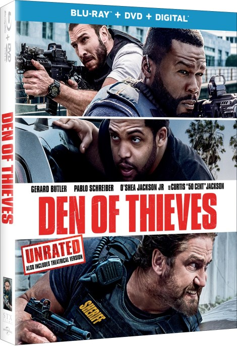 'Den Of Thieves' Unrated; Arrives On Digital April 10 & On Blu-ray & DVD April 24, 2018 From Universal 4