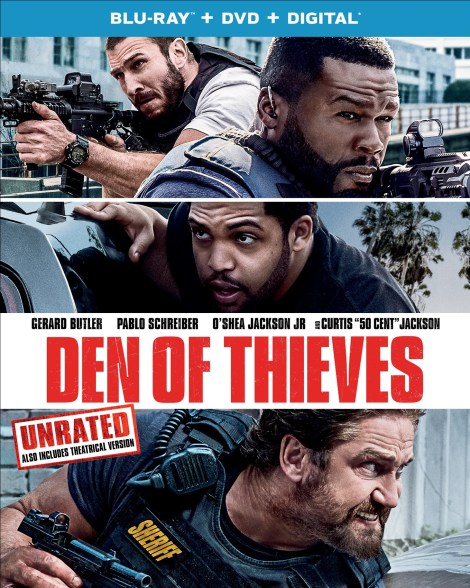 'Den Of Thieves' Unrated; Arrives On Digital April 10 & On Blu-ray & DVD April 24, 2018 From Universal 5