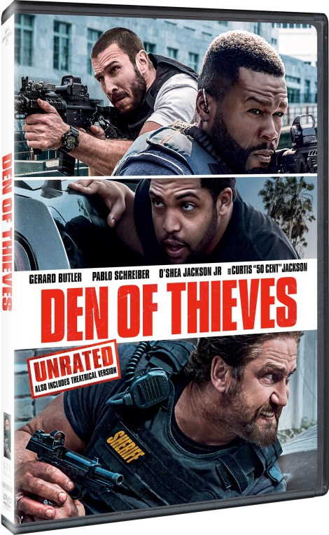 'Den Of Thieves' Unrated; Arrives On Digital April 10 & On Blu-ray & DVD April 24, 2018 From Universal 7