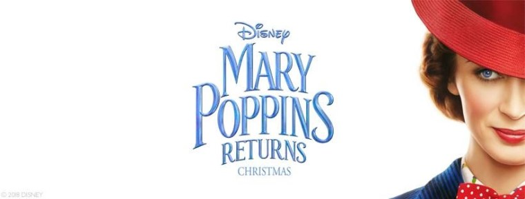 The Official Teaser Trailer For Disney's 'Mary Poppins Returns' Flies In 6