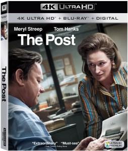 'The Post'; Arrives On Digital April 3 & On 4K Ultra HD, Blu-ray & DVD April 17, 2018 From Dreamworks & Fox 1