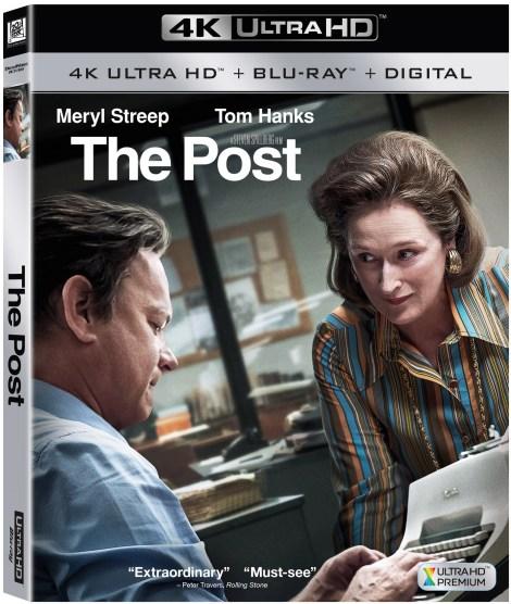 'The Post'; Arrives On Digital April 3 & On 4K Ultra HD, Blu-ray & DVD April 17, 2018 From Dreamworks & Fox 3