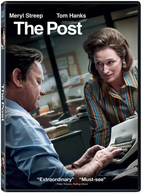 'The Post'; Arrives On Digital April 3 & On 4K Ultra HD, Blu-ray & DVD April 17, 2018 From Dreamworks & Fox 4