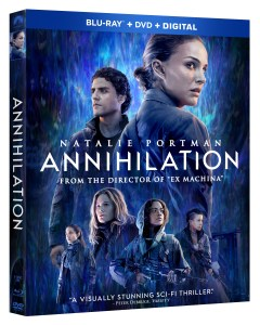 'Annihilation'; Arrives On Digital May 22 & On Blu-ray, DVD & 4K Ultra HD* May 29, 2018 From Paramount 1