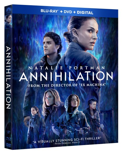 'Annihilation'; Arrives On Digital May 22 & On Blu-ray, DVD & 4K Ultra HD* May 29, 2018 From Paramount 5