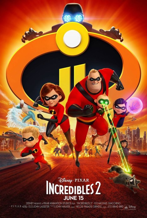 The Ultimate Super-Family Returns In The Official Trailer & Poster For Disney•Pixar's 'Incredibles 2' 2