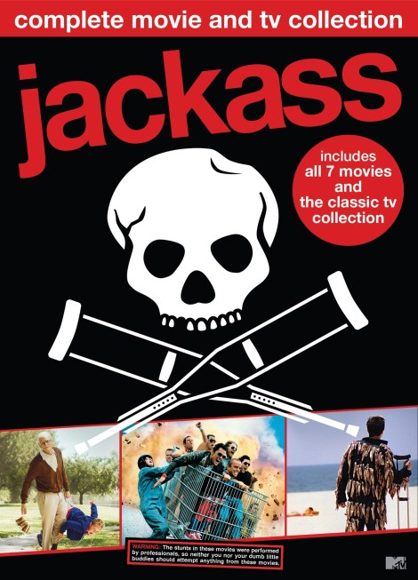 'Jackass: Complete Movie & TV Collection'; Own The 11-Disc DVD Set On May 29, 2018 From MTV & Paramount 4