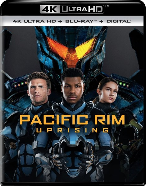 'Pacific Rim: Uprising'; Arrives On Digital June 5 & On 4K Ultra HD, 3D Blu-ray, Blu-ray & DVD June 19, 2018 From Universal 3