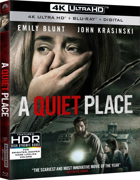 'A Quiet Place'; Arrives On Digital June 26 & On 4K Ultra HD, Blu-ray & DVD July 10, 2018 From Paramount 3