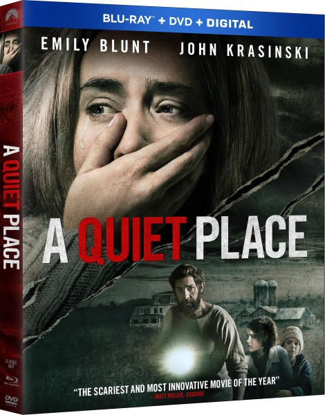 'A Quiet Place'; Arrives On Digital June 26 & On 4K Ultra HD, Blu-ray & DVD July 10, 2018 From Paramount 5