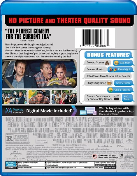 'Blockers'; Arrives On Digital June 19 & On Blu-ray & DVD July 3, 2018 From Universal 5