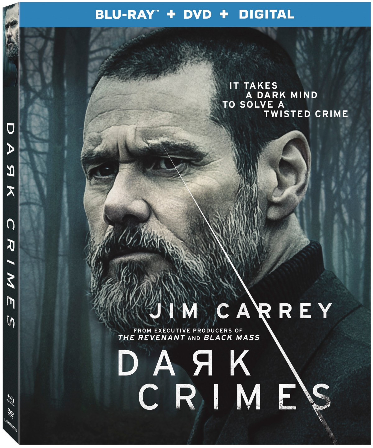 Jim Carrey Stars In The Thriller 'Dark Crimes'; Arrives On Blu-ray & DVD July 31, 2018 From Lionsgate 1