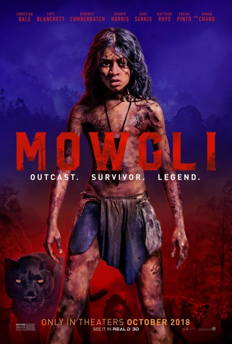 The First Trailer & Poster For The Andy Serkis Directed 'Mowgli' Take A Darker Approach To The Classic Tale 2