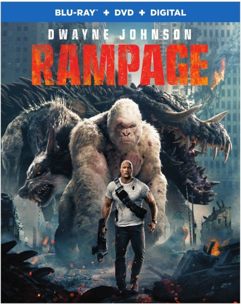 'Rampage'; Arrives On Digital June 26 & On 4K Ultra HD, 3D Blu-ray, Blu-ray & DVD July 17, 2018 From Warner Bros 8