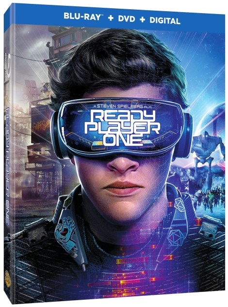 'Ready Player One'; Arrives On Digital July 3 & On 4K Ultra HD, 3D Blu-ray, Blu-ray & DVD July 24, 2018 From Warner Bros 3