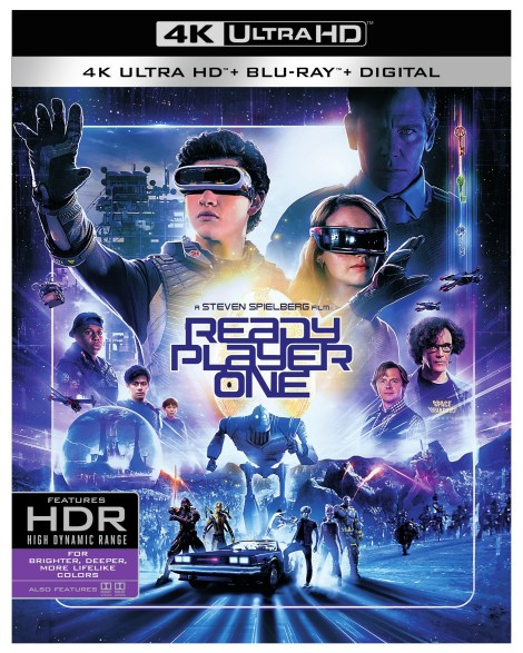 'Ready Player One'; Arrives On Digital July 3 & On 4K Ultra HD, 3D Blu-ray, Blu-ray & DVD July 24, 2018 From Warner Bros 6