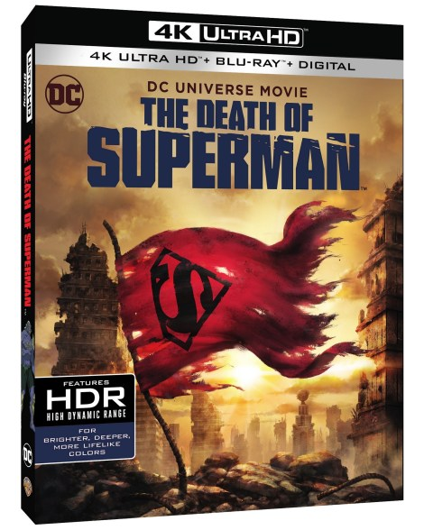 Trailer, Artwork & Release Info For DCU's 'The Death Of Superman'; Arrives On Digital July 24 & On 4K Ultra HD, Blu-ray & DVD August 7, 2018 From DC & Warner Bros 3