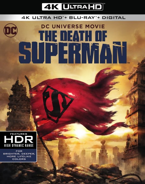 Trailer, Artwork & Release Info For DCU's 'The Death Of Superman'; Arrives On Digital July 24 & On 4K Ultra HD, Blu-ray & DVD August 7, 2018 From DC & Warner Bros 4