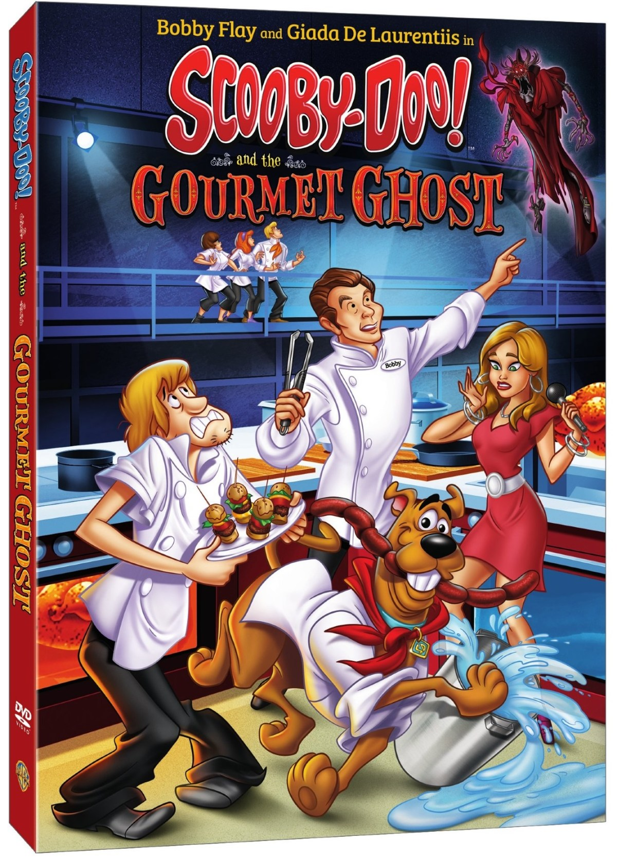 Trailer, Artwork & Release Details For 'Scooby-Doo! And The Gourmet Ghost'; Arrives On Digital August 28 & On DVD September 11, 2018 From Warner Bros 14