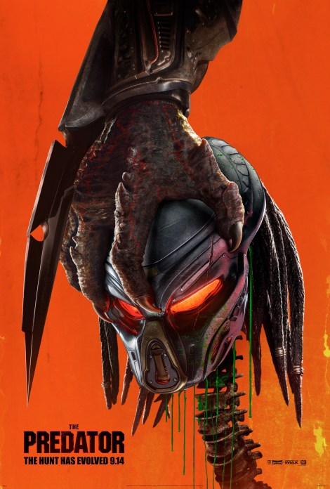 A New Poster & Blood-Soaked Red Band Trailer For Shane Black's 'The Predator' Have Arrived On Earth 2