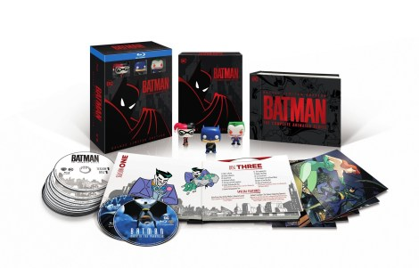 Bonus Content Listings, Artwork & More For 'Batman: The Complete Animated Series'; Deluxe Limited Edition Blu-ray Set Arrives October 16, 2018 From DC & Warner Bros 1