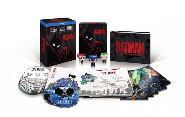 Bonus Content Listings, Artwork & More For 'Batman: The Complete Animated Series'; Deluxe Limited Edition Blu-ray Set Arrives October 16, 2018 From DC & Warner Bros 39