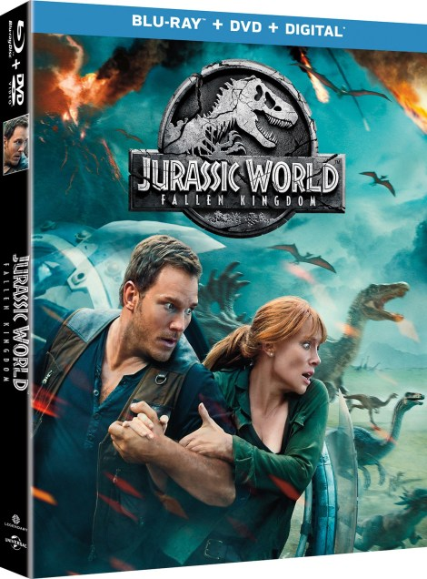 'Jurassic World: Fallen Kingdom'; Arrives On Digital September 4 & On 4K Ultra HD, 3D Blu-ray, Blu-ray & DVD September 18, 2018 From Universal 8