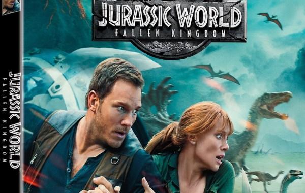 'Jurassic World: Fallen Kingdom'; Arrives On Digital September 4 & On 4K Ultra HD, 3D Blu-ray, Blu-ray & DVD September 18, 2018 From Universal 4