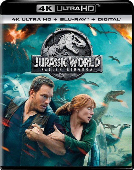 'Jurassic World: Fallen Kingdom'; Arrives On Digital September 4 & On 4K Ultra HD, 3D Blu-ray, Blu-ray & DVD September 18, 2018 From Universal 4