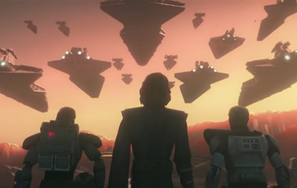 A New Trailer & Announcement From SDCC Confirms The Return Of 'Star Wars: The Clone Wars' 25