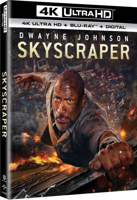 'Skyscraper'; Arrives On Digital September 25 & On 4K Ultra HD, 3D Blu-ray, Blu-ray & DVD October 9, 2018 From Universal 5