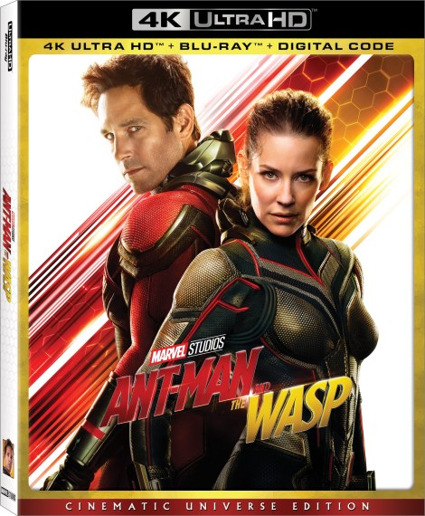 Marvel's 'Ant-Man And The Wasp'; Arrives On Digital October 2 & On 4K Ultra HD, Blu-ray & DVD October 16, 2018 From Marvel Studios 3