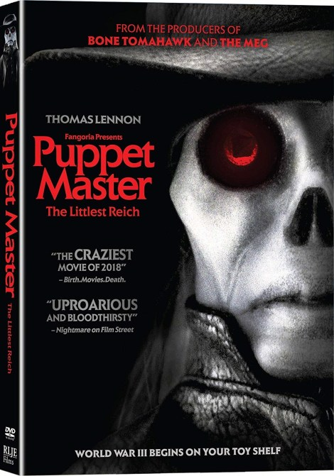 [GIVEAWAY] Win 'Puppet Master: The Littlest Reich' On DVD: Available On 4K Ultra HD, Blu-ray & DVD September 25, 2018 From RLJE Films 2