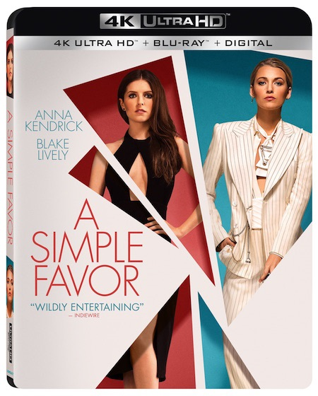 'A Simple Favor'; The Paul Feig Directed Thriller Arrives On Digital December 11 & On 4K Ultra HD, Blu-ray & DVD December 18, 2018 From Lionsgate 5