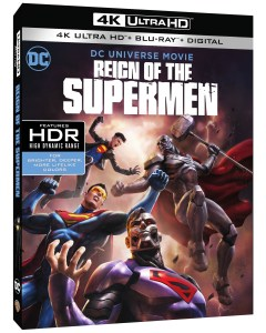 Trailer, Artwork & Release Details For 'Reign Of The Supermen'; Arrives On Digital January 15 & On 4K Ultra HD, Blu-ray & DVD January 29, 2019 From DC & Warner Bros 1
