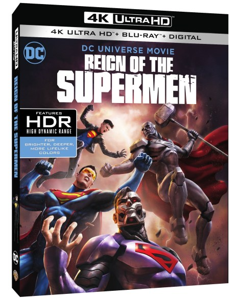 Trailer, Artwork & Release Details For 'Reign Of The Supermen'; Arrives On Digital January 15 & On 4K Ultra HD, Blu-ray & DVD January 29, 2019 From DC & Warner Bros 3