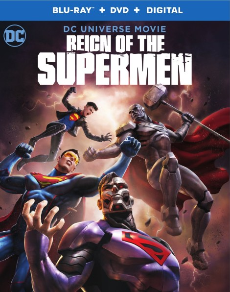 Trailer, Artwork & Release Details For 'Reign Of The Supermen'; Arrives On Digital January 15 & On 4K Ultra HD, Blu-ray & DVD January 29, 2019 From DC & Warner Bros 4