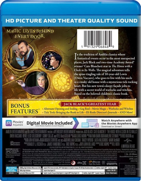 'The House With A Clock In Its Walls'; Arrives On Digital November 27 & On 4K Ultra HD, Blu-ray & DVD December 18, 2018 From Universal 8