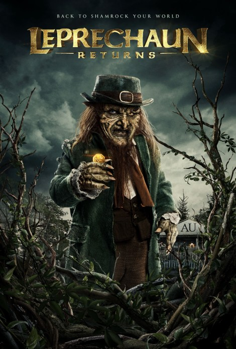 Check Out A New Trailer & 3 Posters For 'Leprechaun Returns'; Coming To Digital & VOD December 11, 2018 From Lionsgate 2