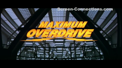 [Blu-Ray Review] Stephen King's 'Maximum Overdrive': Now Available On Vestron Video Collector's Series Blu-ray From Lionsgate 2