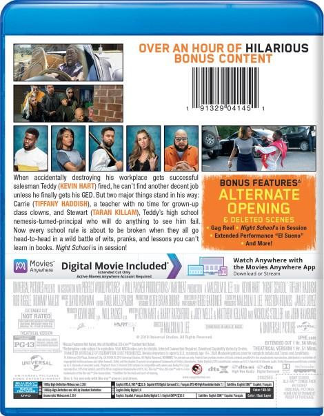 'Night School'; Arrives On Digital December 11, 2018 & On 4K Ultra HD, Blu-ray & DVD January 1, 2019 From Universal 20