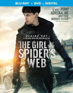 [Blu-Ray Review] 'The Girl In The Spider's Web': Available On Blu-ray & DVD February 5, 2019 From Sony Pictures 1