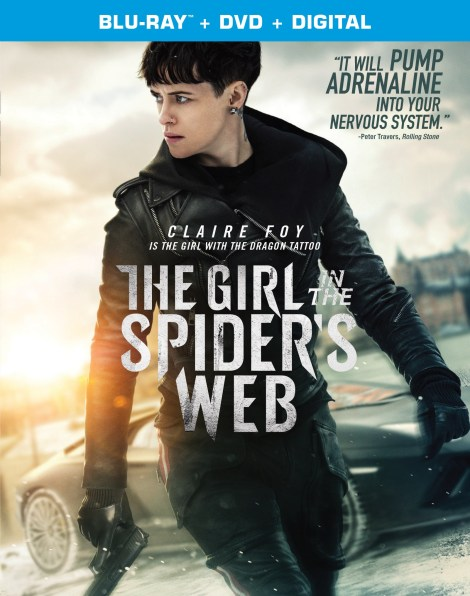 'The Girl In The Spider's Web'; Arrives On Digital January 22 & On Blu-ray & DVD February 5, 2019 From Sony Pictures 3