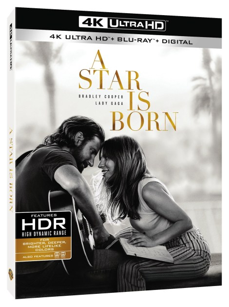 'A Star Is Born'; The Acclaimed Film Starring Bradley Cooper & Lady Gaga Arrives On Digital January 15 & On 4K Ultra HD, Blu-ray & DVD February 19, 2019 From Warner Bros 2