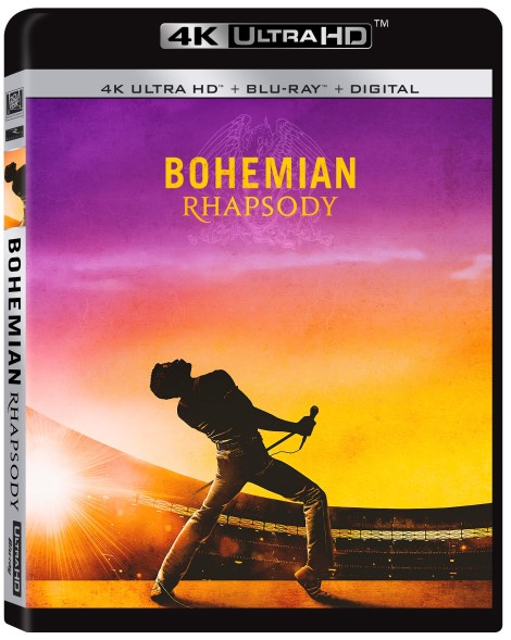 'Bohemian Rhapsody'; The Queen Biopic Arrives On Digital January 22 & On 4K Ultra HD, Blu-ray & DVD February 12, 2019 From Fox Home Ent. 4