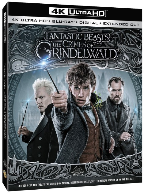 'Fantastic Beasts: The Crimes Of Grindelwald'; Arrives On Digital February 15 & On 4K Ultra HD, Blu-ray & DVD March 12, 2019 From Warner Bros 2